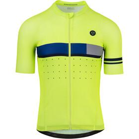 AGU Classic Koszulka kolarska z krótkim rękawem Mężczyźni, fluo yellow
